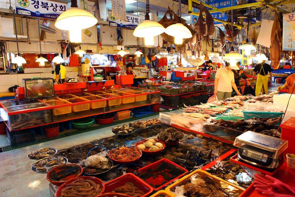 Jagalchi Markt in Busan