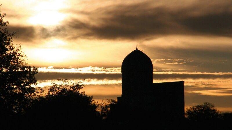 Samarkand Abendlicht © Diamir
