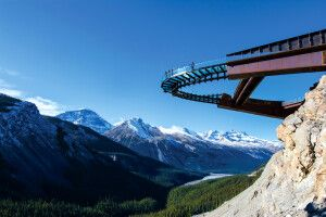 Glacier Skywalk, Jasper-Nationalpark