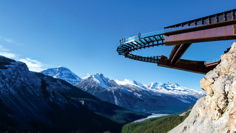 Glacier Skywalk, Jasper-Nationalpark © Diamir