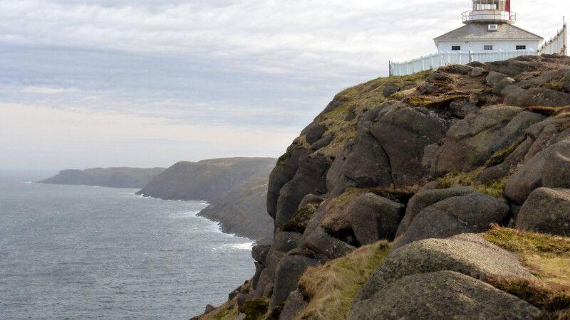 Leuchtturm am Cape Spear, östlichster Punkt Nordamerikas © Diamir