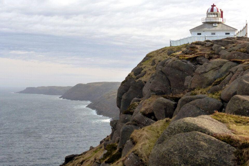 Leuchtturm am Cape Spear, östlichster Punkt Nordamerikas