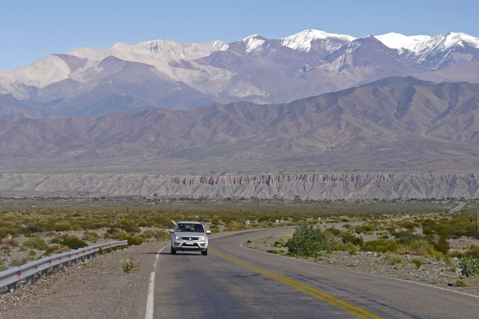 Straße von Cachi nach Salta, unterwegs durch Los Cordones