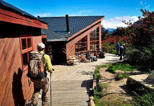 Unterwegs am Refugio Los Cuernos im Nationalpark Torres del Paine