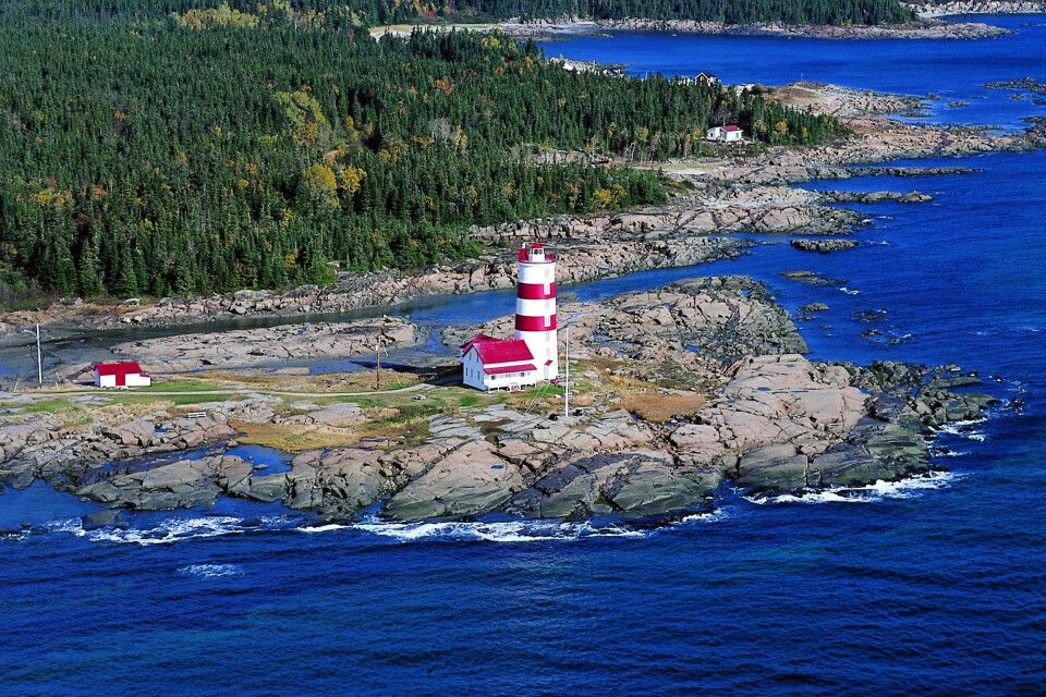 Pointe-des-Monts Lighthouse, Cote-Nord