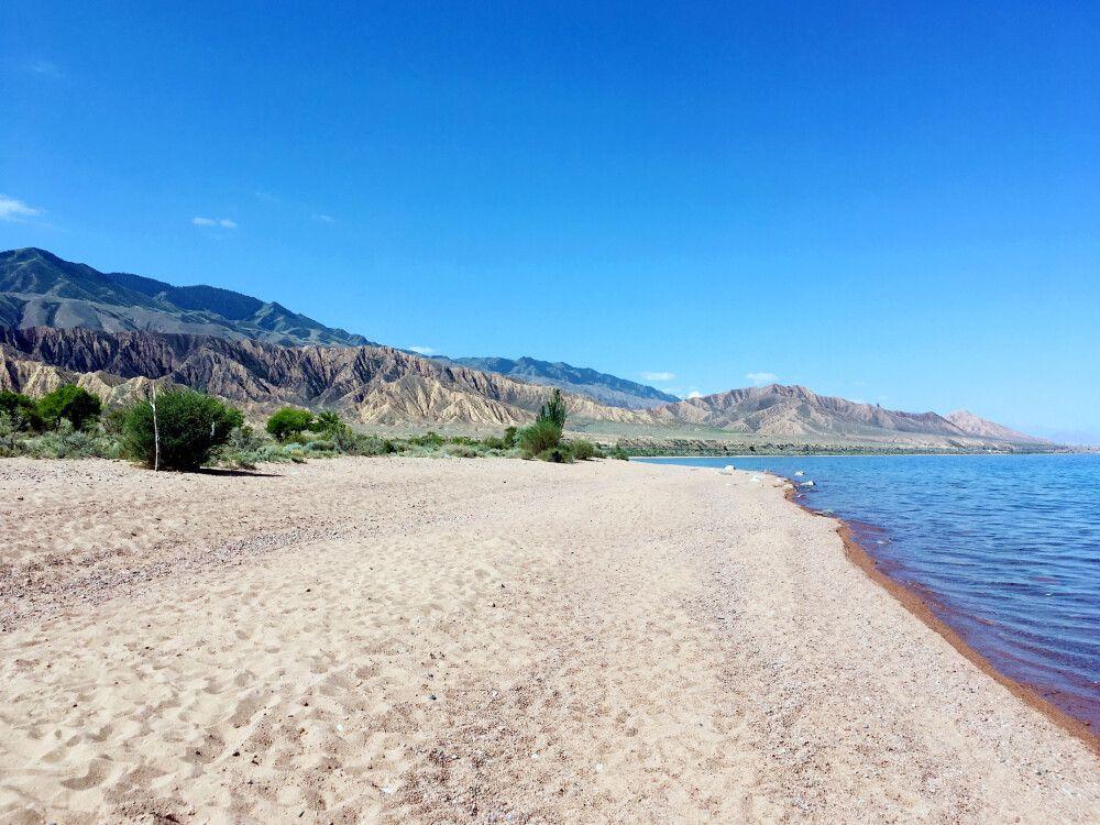 Ufer des Issyk Kyl
