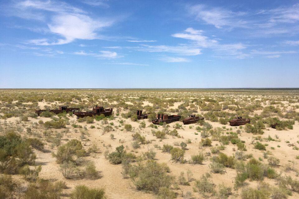 Schiffsfriedhof des Aralsees
