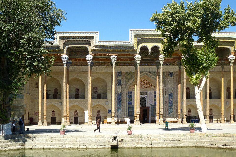 Buchara, Moschee Bolo Hauz