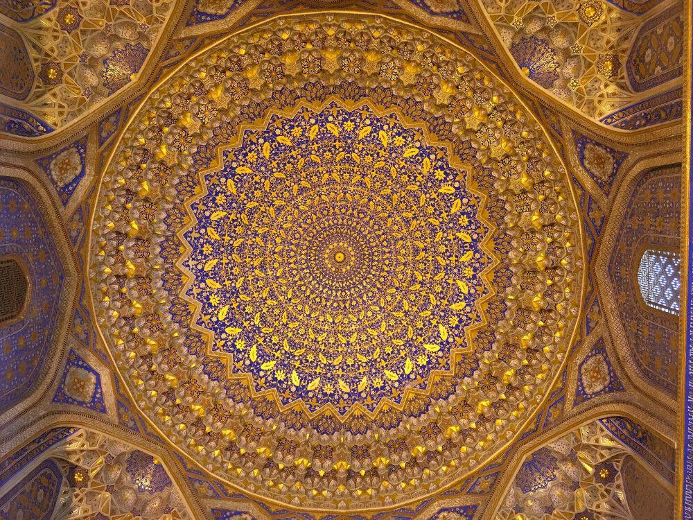 Moschee Tillakori in Samarkand