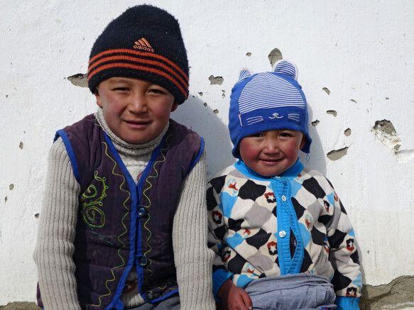 Kinder auf dem Pamir