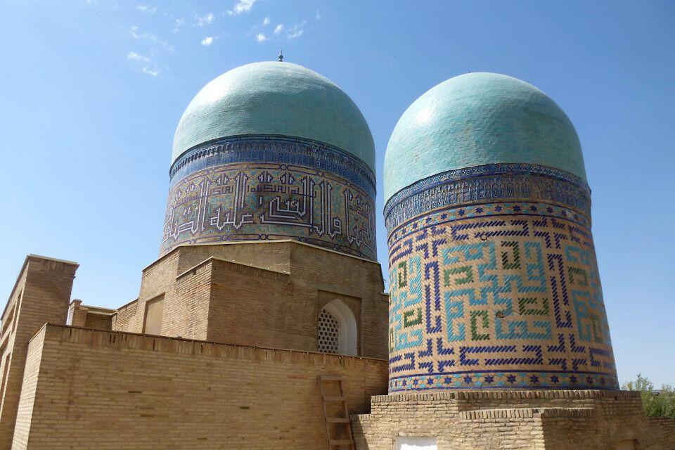 Moschee am Eingang der Nekropole Shohizinda
