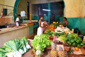 Obst- und Gemüsemarkt in Havanna