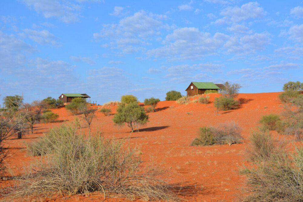 Landschaft bei der Bagatelle Lodge