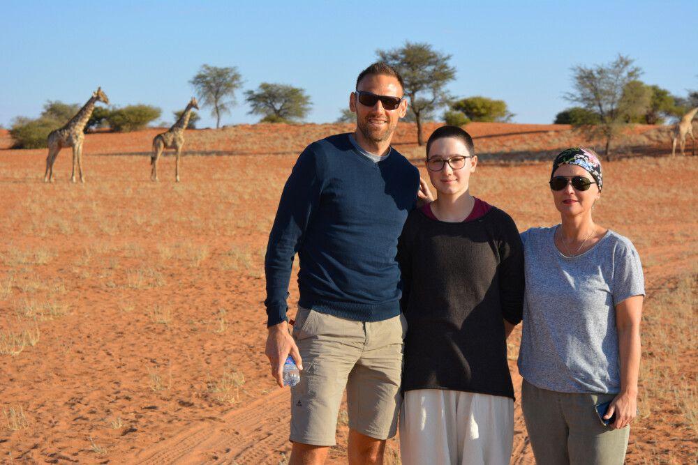 Safarierlebnis, Fußpirsch bei der Bagatelle Lodge