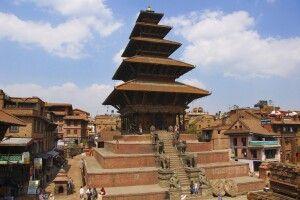 Fünfstöckige Pagode in Bhaktapur