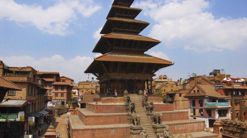 fünf-stöckige Pagode in Bhaktapur © Diamir