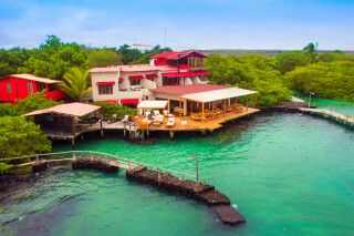 Red Mangrove Eco Luxury Hotel auf Santa Cruz