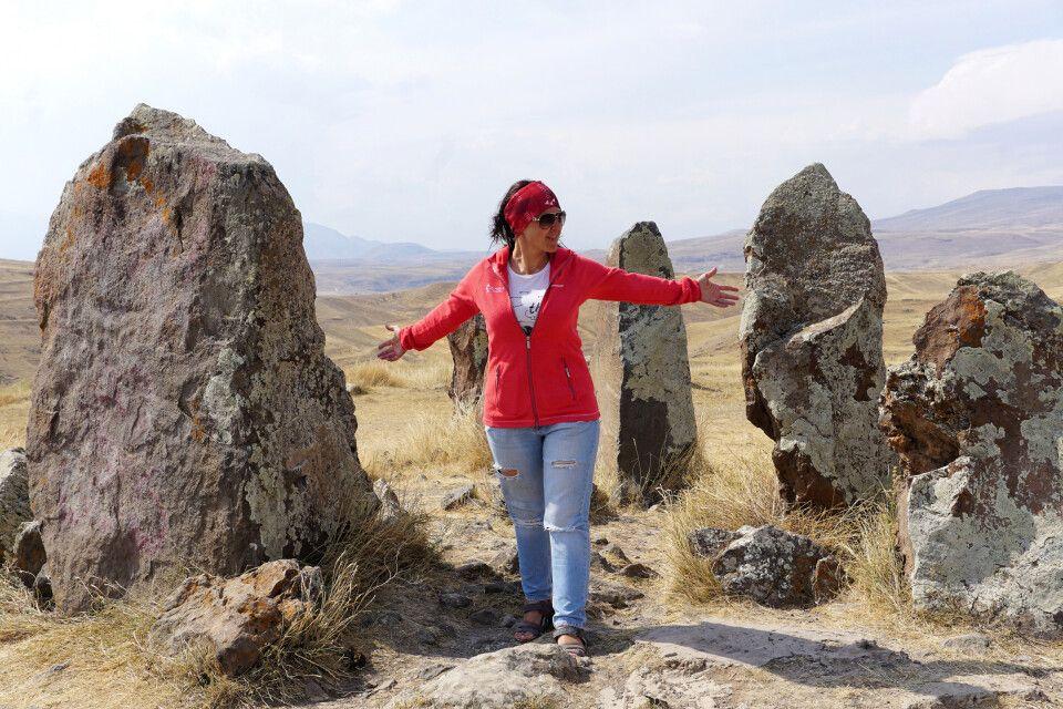 Menhire in Südarmenien