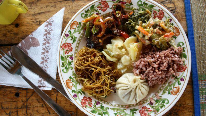 Kulinarisches Allerlei in Bhutan © Diamir