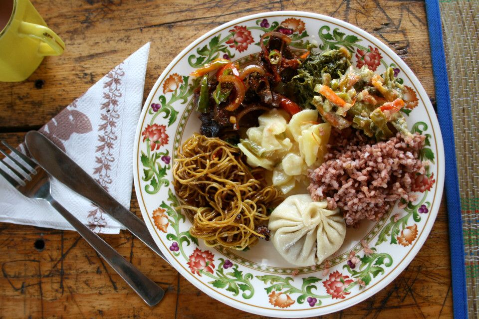 Kulinarisches Allerlei in Bhutan