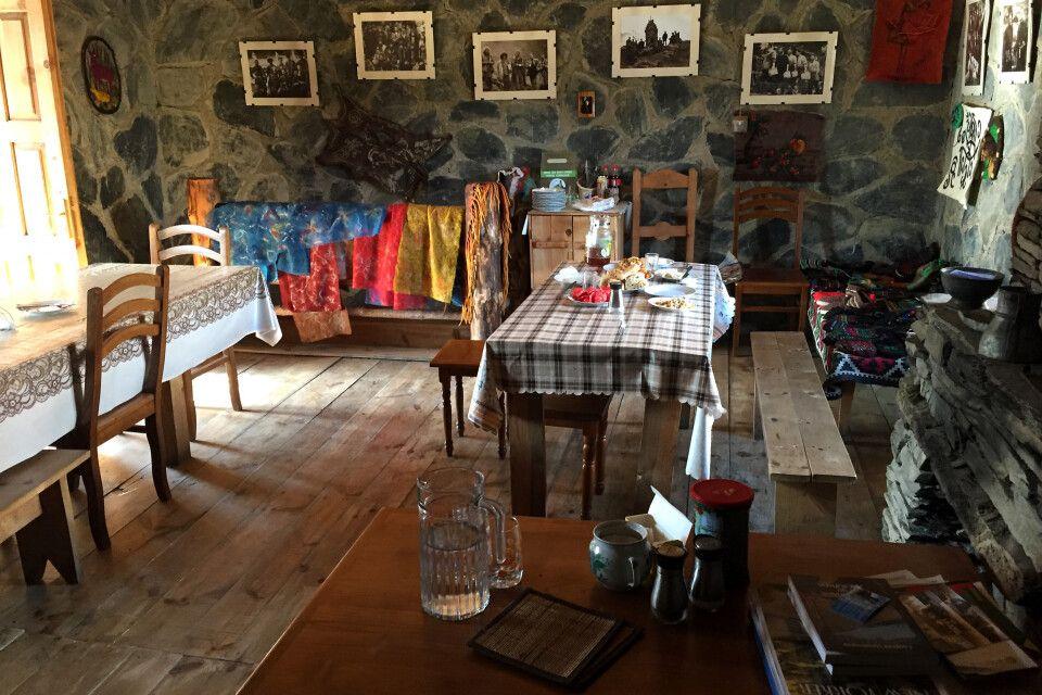 Gästehaus in Omalo