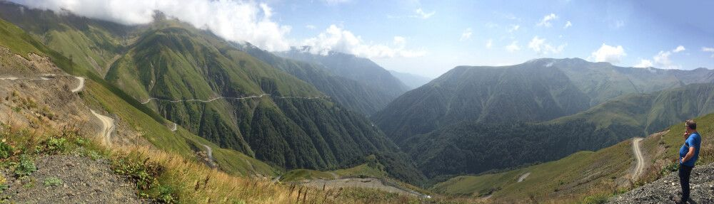 Wilde Piste ins Hochgebirge