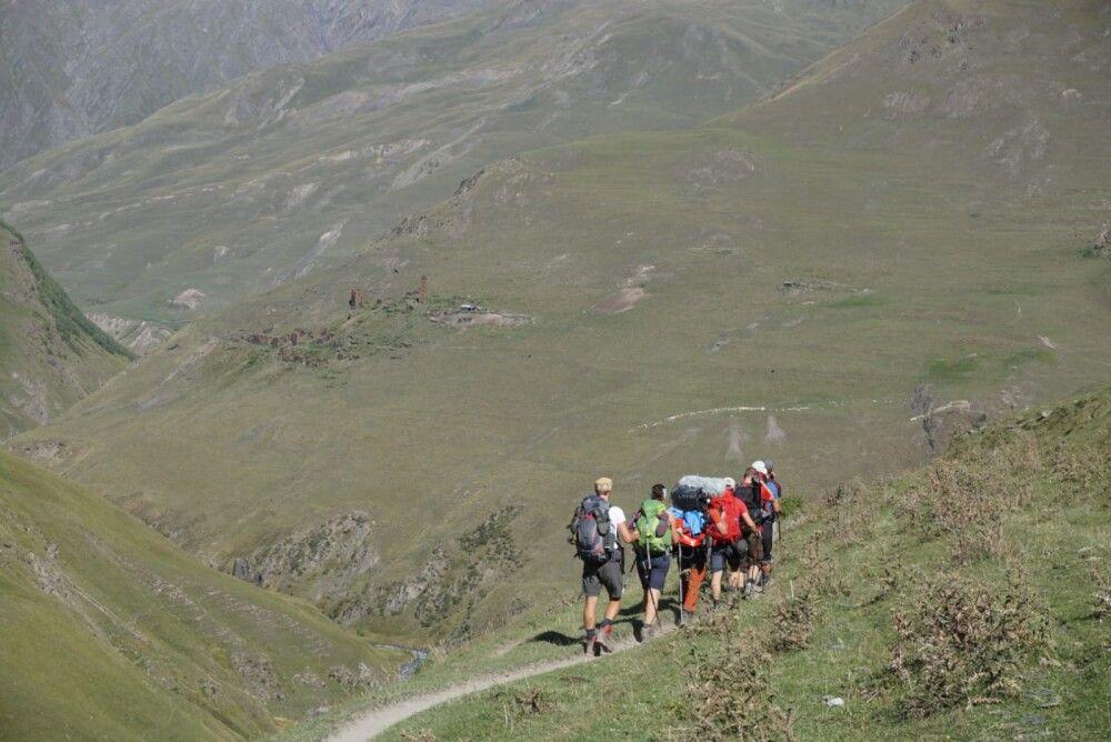 Wir allein im Hohen Kaukasus