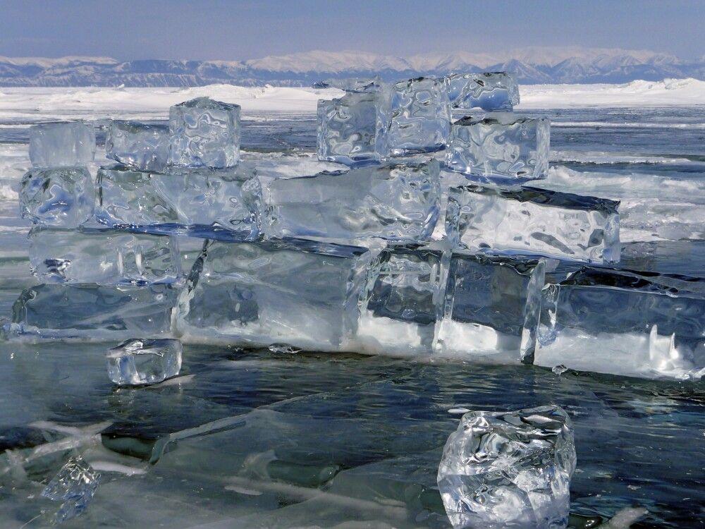 Eisskulpturen