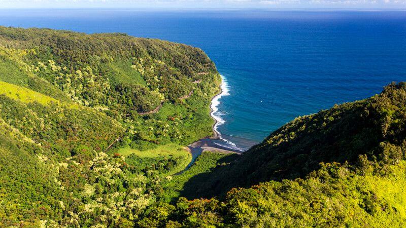 Kleine Bucht an der Straße nach Hana, Maui © Diamir
