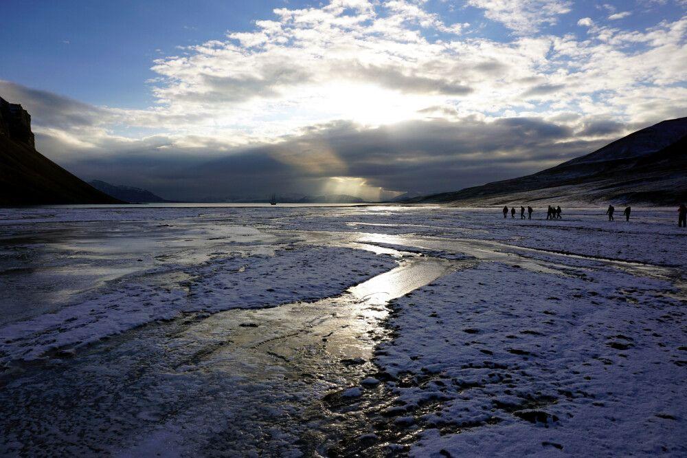 Eisige Welten in Skansbukta