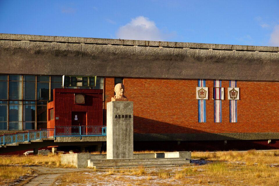 Eine der nördlichsten Lenin-Statuen