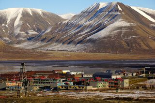 Longyearbyen, die Hauptstadt Spitzbergens