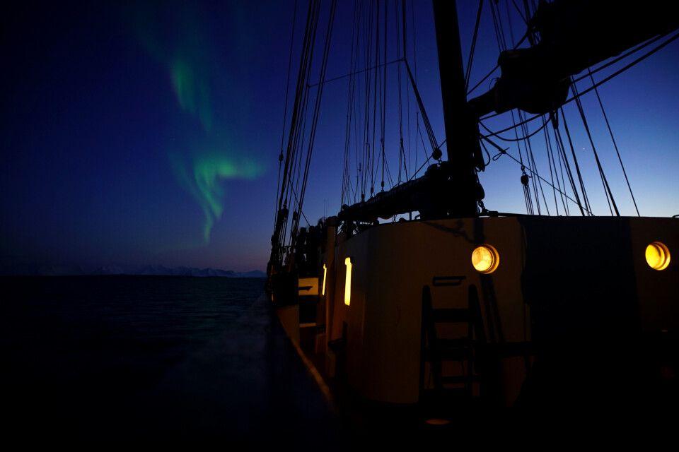 Nordlicht über der Noorderlicht