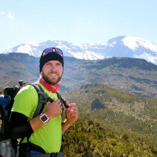 Unser Kollege Uwe am Kilimanjaro