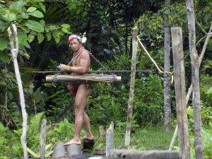 Mentawai bei der Jagd
