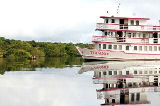 Flusskreuzfahrt mit der M/Y Tucano auf dem Amazonas