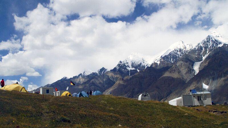 Lager am Merzbacher Gletscher    © Diamir