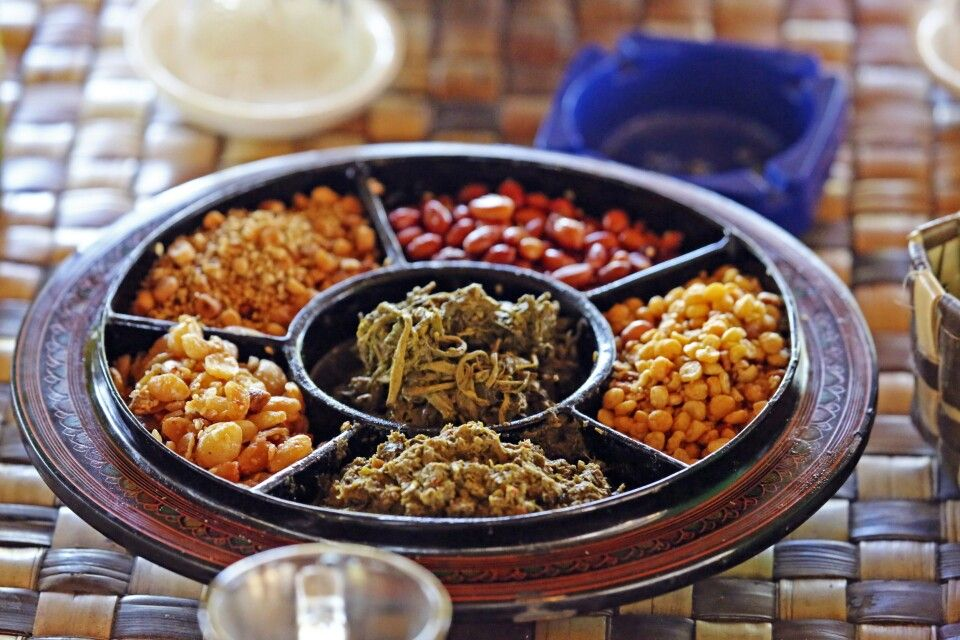 Burmesische Snacks