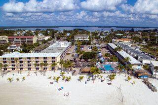 Luftansicht Outrigger Beach Resort, Fort Myers