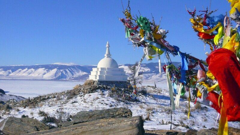 Stupa auf Olchon © Diamir