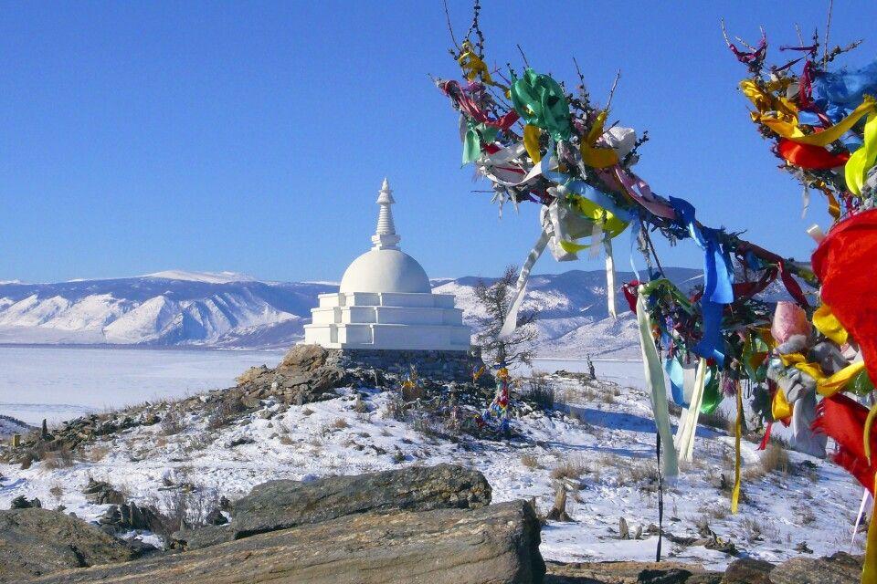 Stupa auf Olchon