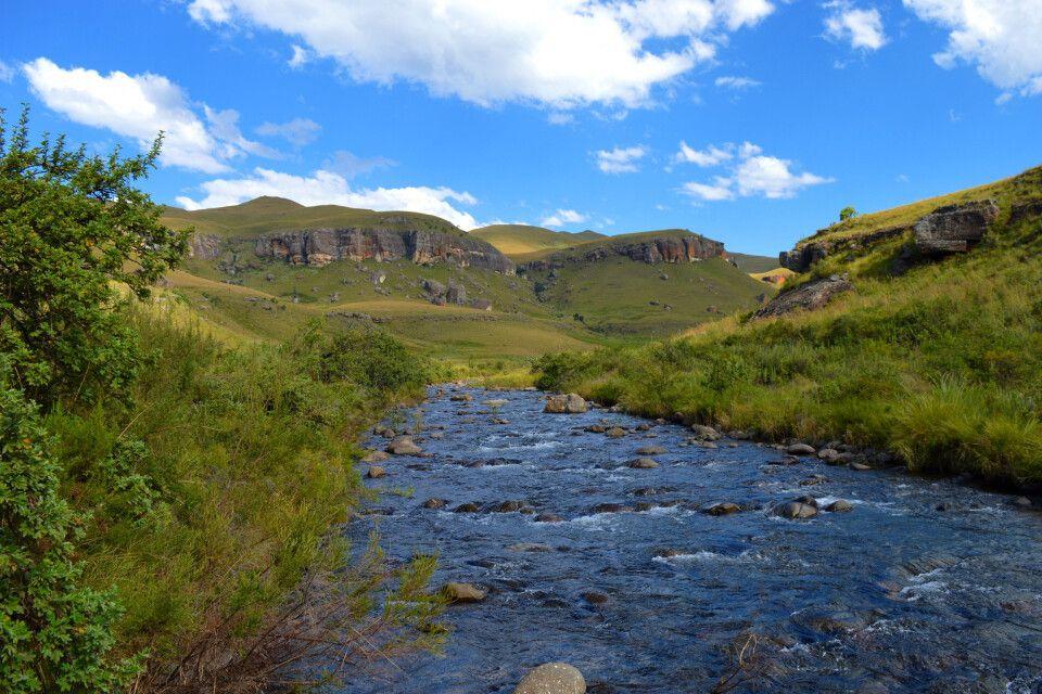 Panorama in den Drakensbergen