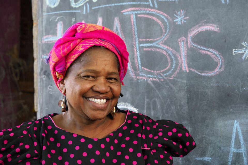 Frau aus Namibia