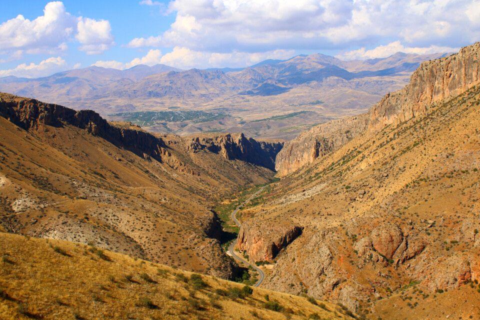 Wanderung zum Kloster Noravank