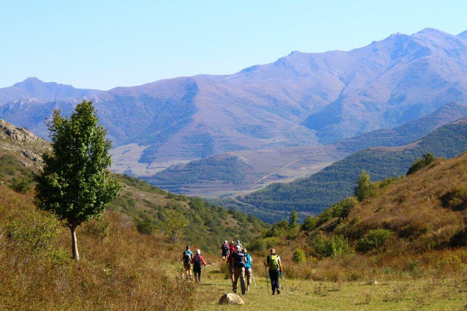 Über die Berge der Region Syunik zum Kloster Tatev