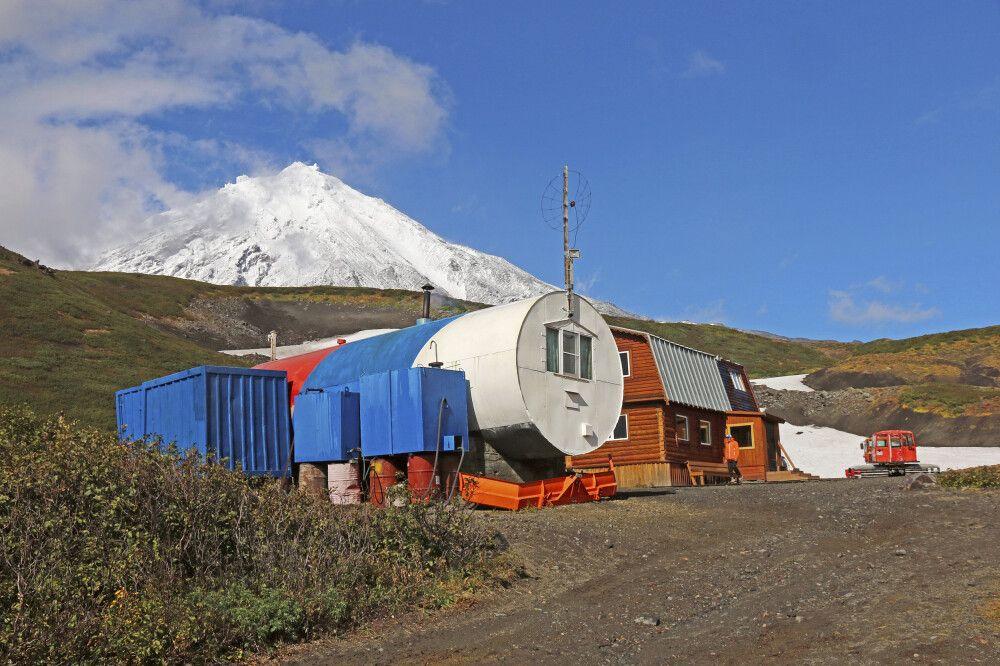 Alpika-Hütte mit Korjakski