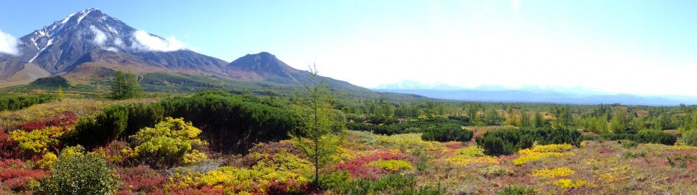 Bolschaya Udina im nördlichen Vulkangebiet