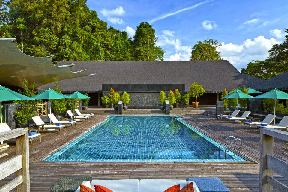 Mulu Marriott Resort & Spa Swimming Pool
