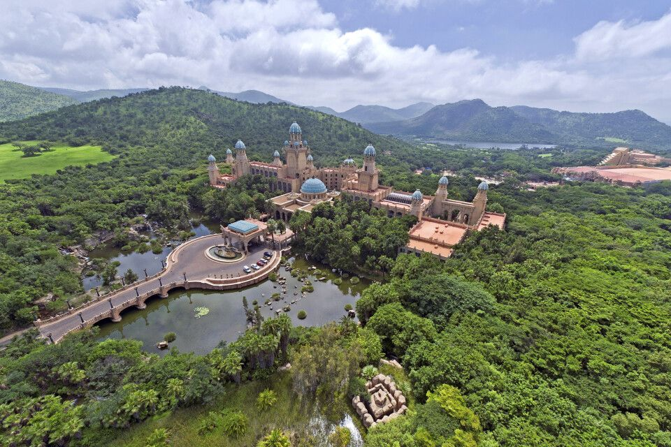 ein interessanter Zwischenstopp: The Palace of the lost City in Sun City