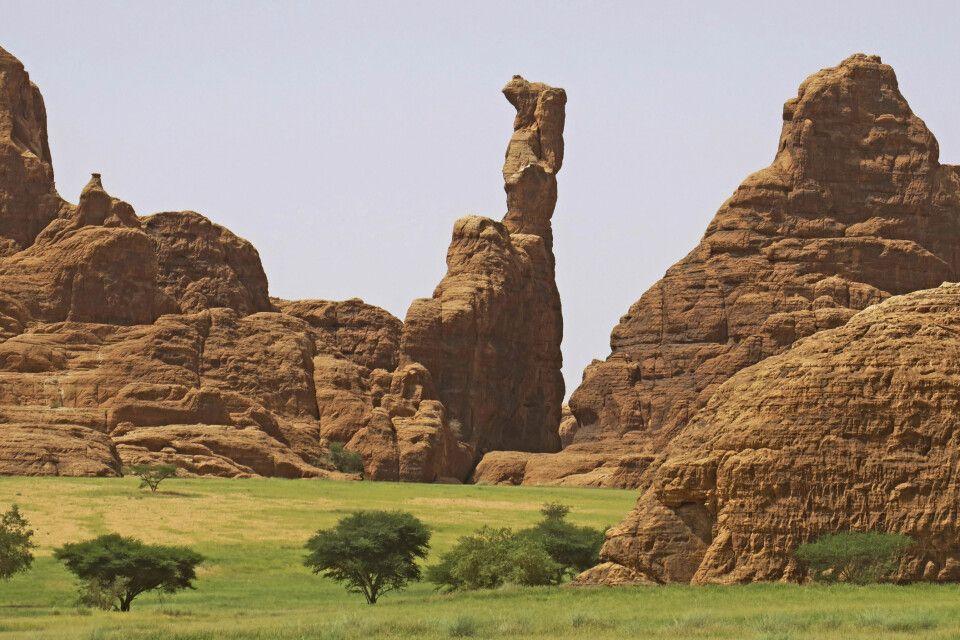 Sandsteinformationen des Ennedi-Massivs